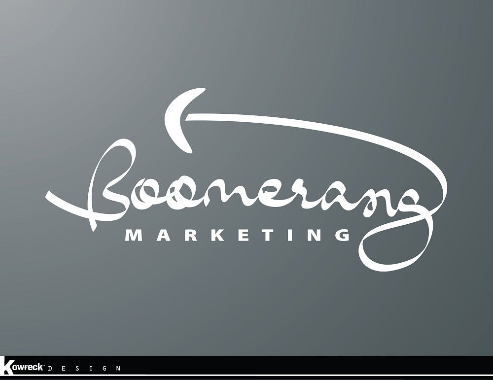 Logo Design by kowreck - Entry No. 66 in the Logo Design Contest Unique Logo Design Wanted for Boomerang Marketing.