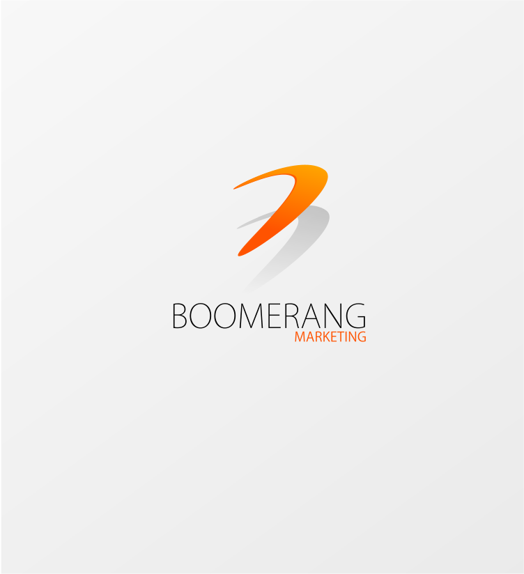 Logo Design by Jorge Sardon - Entry No. 68 in the Logo Design Contest Unique Logo Design Wanted for Boomerang Marketing.