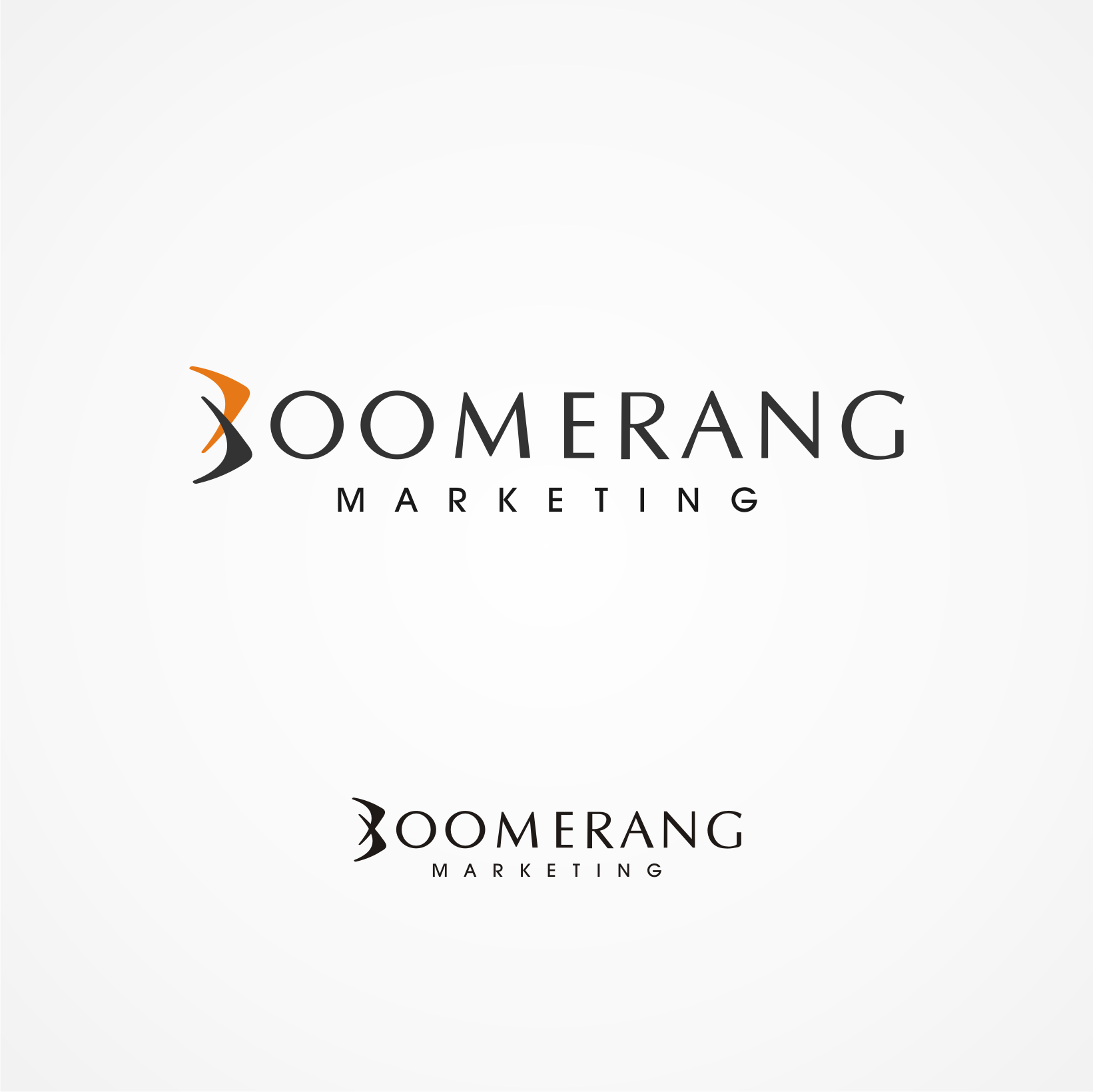 Logo Design by Private User - Entry No. 70 in the Logo Design Contest Unique Logo Design Wanted for Boomerang Marketing.