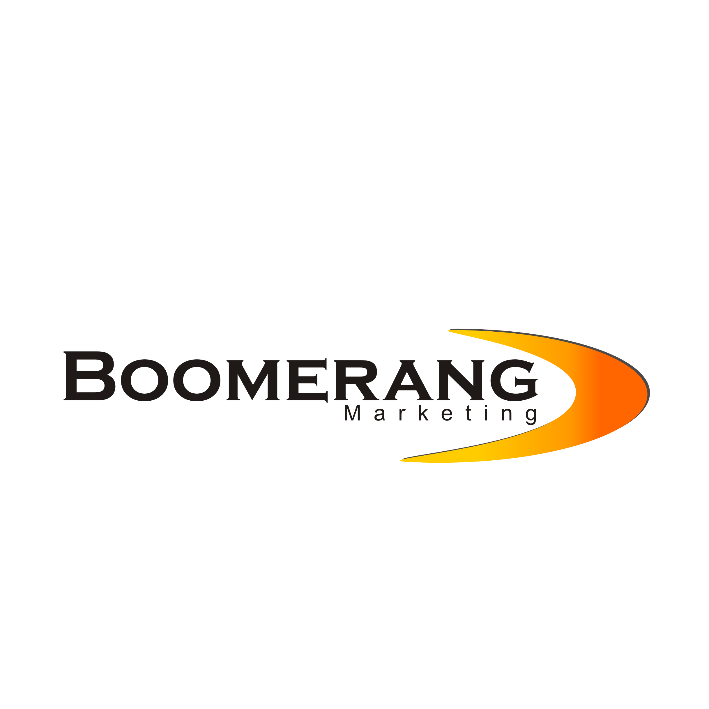 Logo Design by A Rizkiyanto Amir - Entry No. 71 in the Logo Design Contest Unique Logo Design Wanted for Boomerang Marketing.