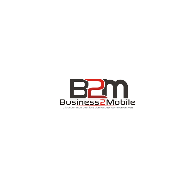 Logo Design by Think - Entry No. 117 in the Logo Design Contest Logo Design Needed for Exciting New Company Business2Mobile - B2M.