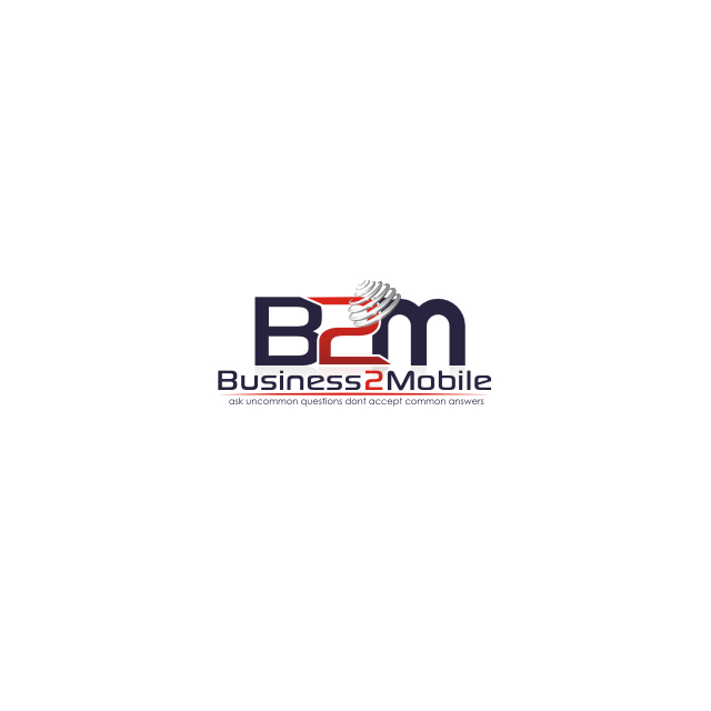 Logo Design by Think - Entry No. 118 in the Logo Design Contest Logo Design Needed for Exciting New Company Business2Mobile - B2M.