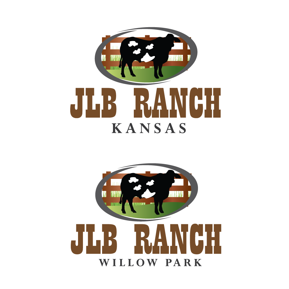 Logo Design by rockin - Entry No. 1 in the Logo Design Contest Logo Design Needed for Exciting New Company JLB Ranch Kansas.