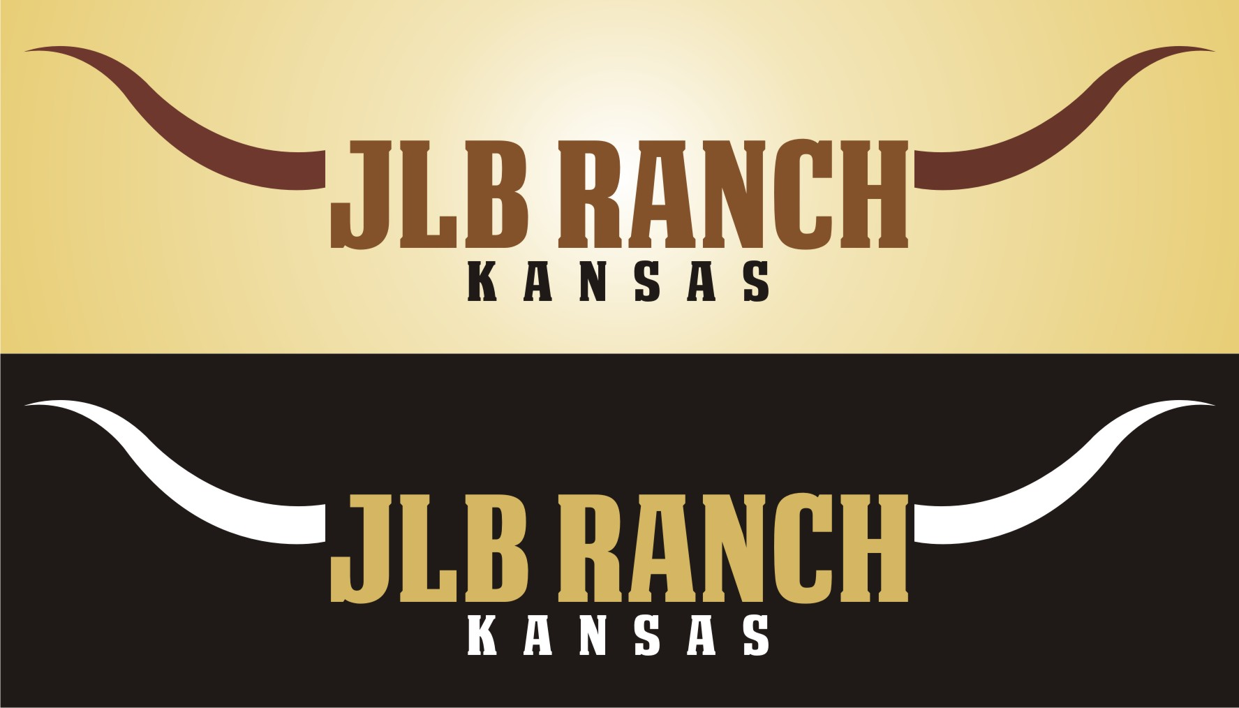Logo Design by kambal - Entry No. 3 in the Logo Design Contest Logo Design Needed for Exciting New Company JLB Ranch Kansas.