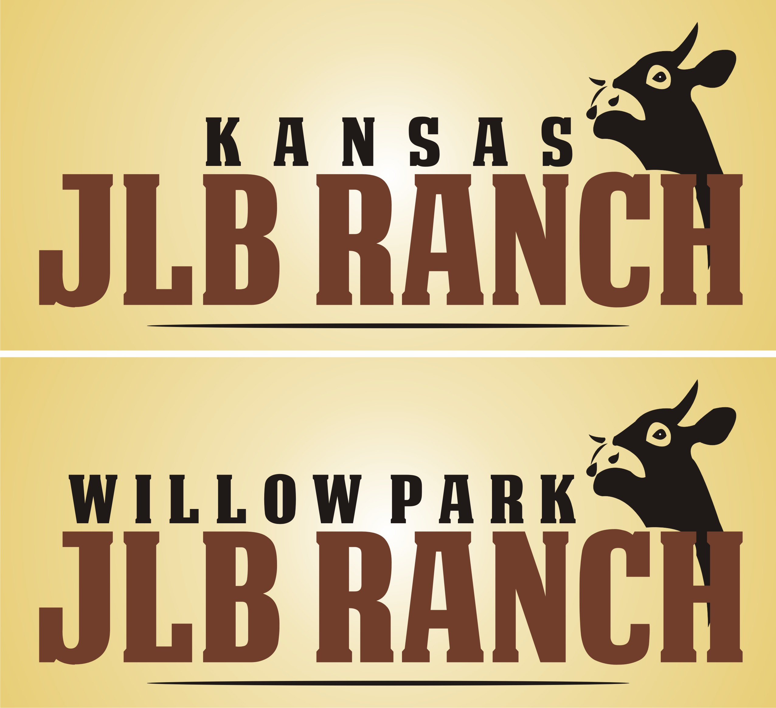 Logo Design by kambal - Entry No. 5 in the Logo Design Contest Logo Design Needed for Exciting New Company JLB Ranch Kansas.