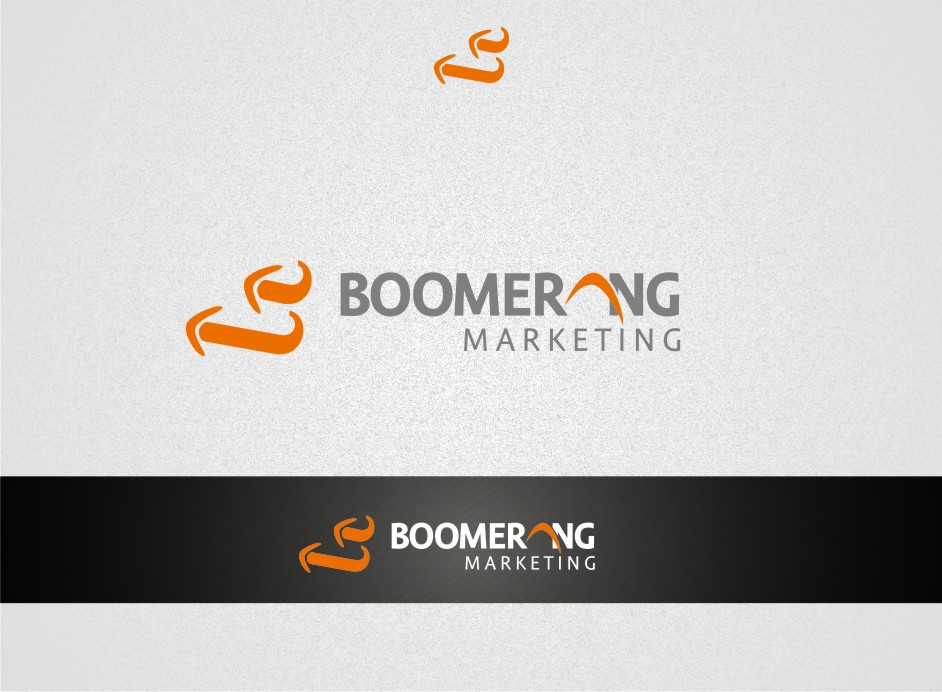 Logo Design by graphicleaf - Entry No. 75 in the Logo Design Contest Unique Logo Design Wanted for Boomerang Marketing.