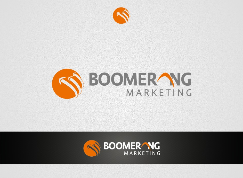 Logo Design by graphicleaf - Entry No. 76 in the Logo Design Contest Unique Logo Design Wanted for Boomerang Marketing.