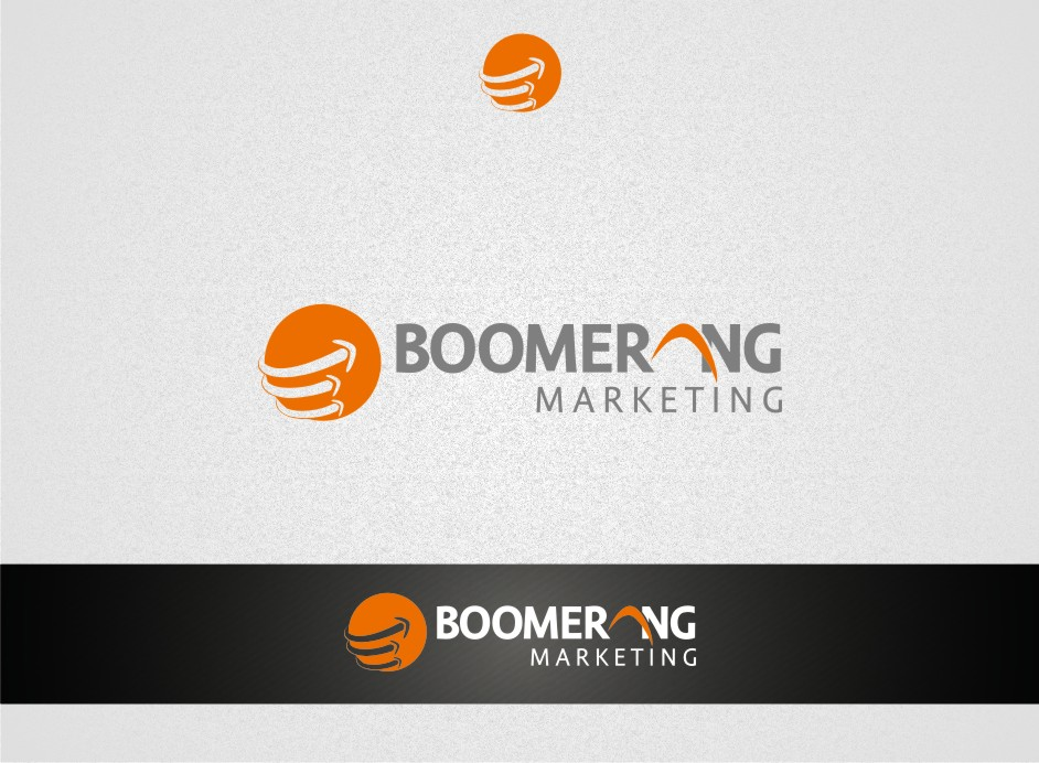 Logo Design by graphicleaf - Entry No. 77 in the Logo Design Contest Unique Logo Design Wanted for Boomerang Marketing.