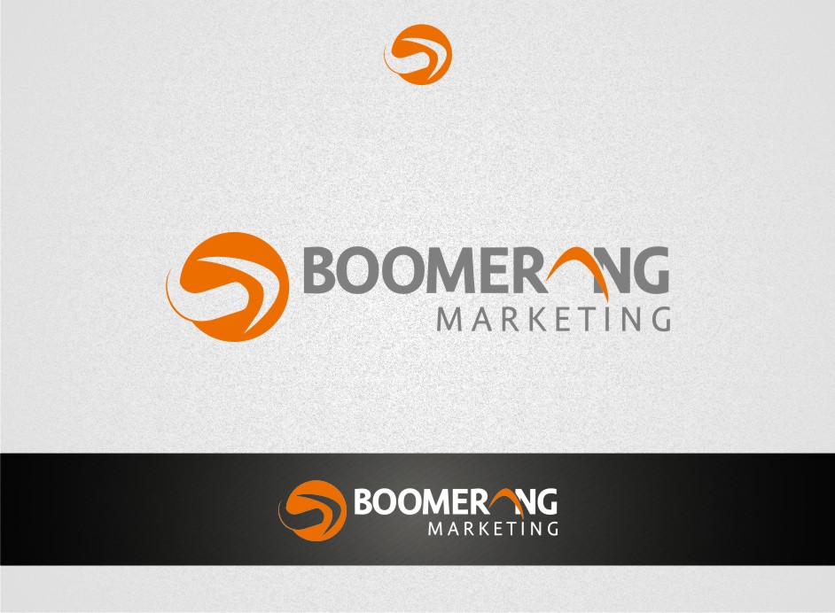 Logo Design by graphicleaf - Entry No. 78 in the Logo Design Contest Unique Logo Design Wanted for Boomerang Marketing.