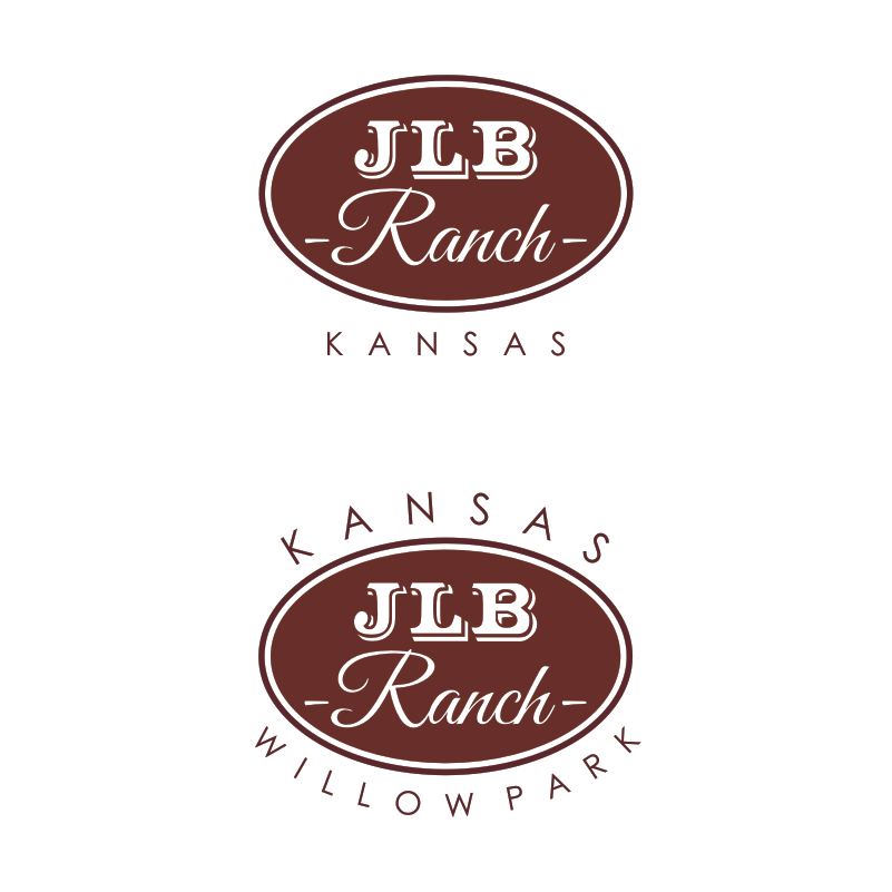 Logo Design by Private User - Entry No. 14 in the Logo Design Contest Logo Design Needed for Exciting New Company JLB Ranch Kansas.