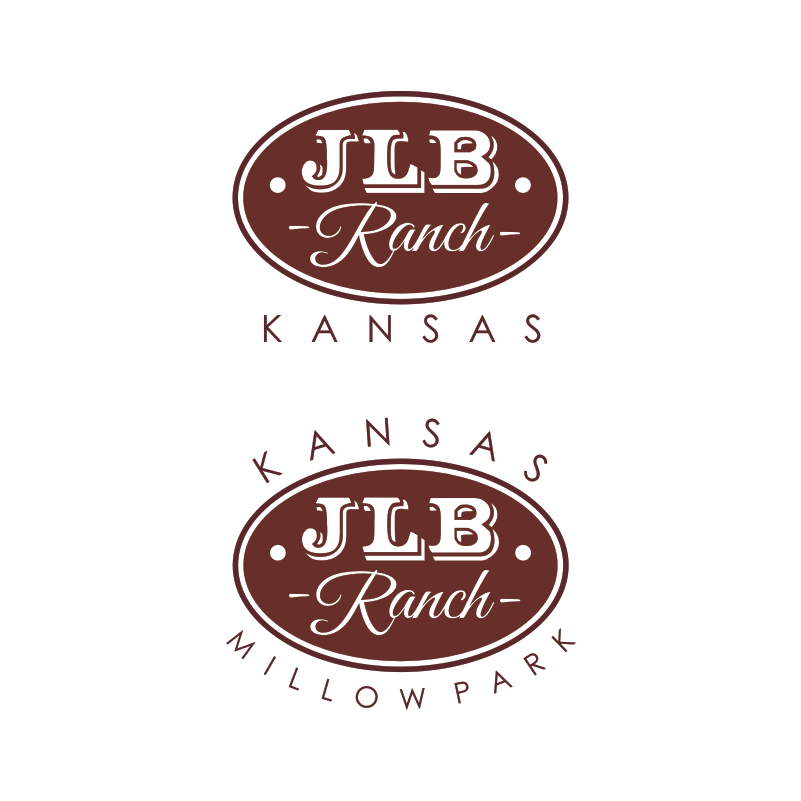 Logo Design by Private User - Entry No. 16 in the Logo Design Contest Logo Design Needed for Exciting New Company JLB Ranch Kansas.