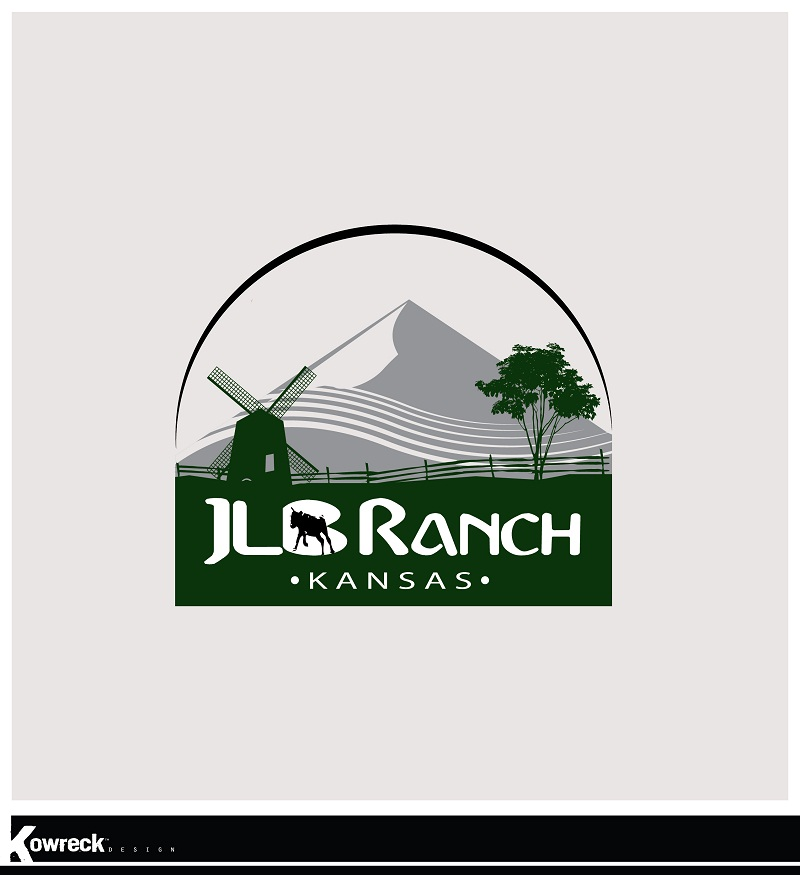 Logo Design by kowreck - Entry No. 23 in the Logo Design Contest Logo Design Needed for Exciting New Company JLB Ranch Kansas.