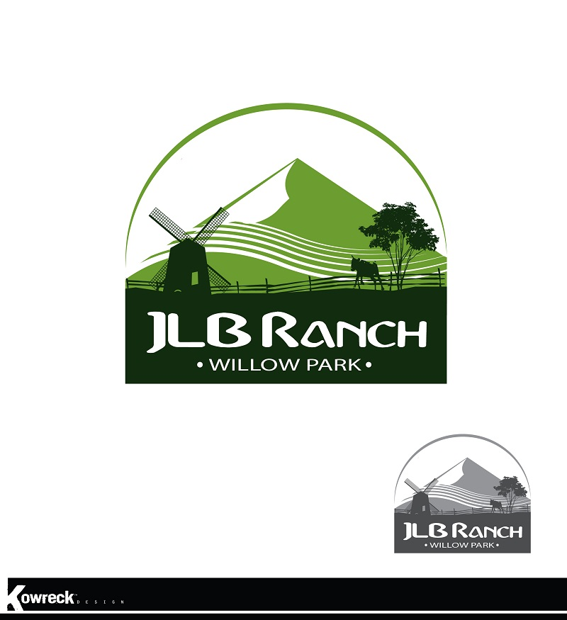 Logo Design by kowreck - Entry No. 24 in the Logo Design Contest Logo Design Needed for Exciting New Company JLB Ranch Kansas.