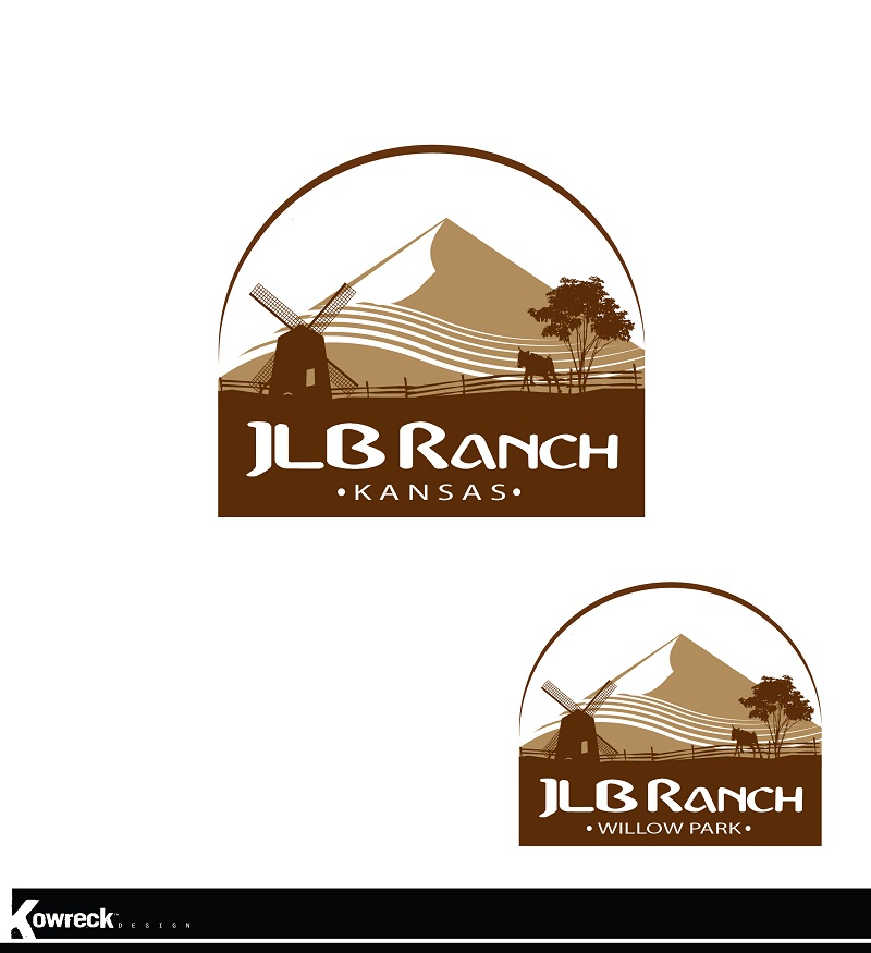 Logo Design by kowreck - Entry No. 26 in the Logo Design Contest Logo Design Needed for Exciting New Company JLB Ranch Kansas.