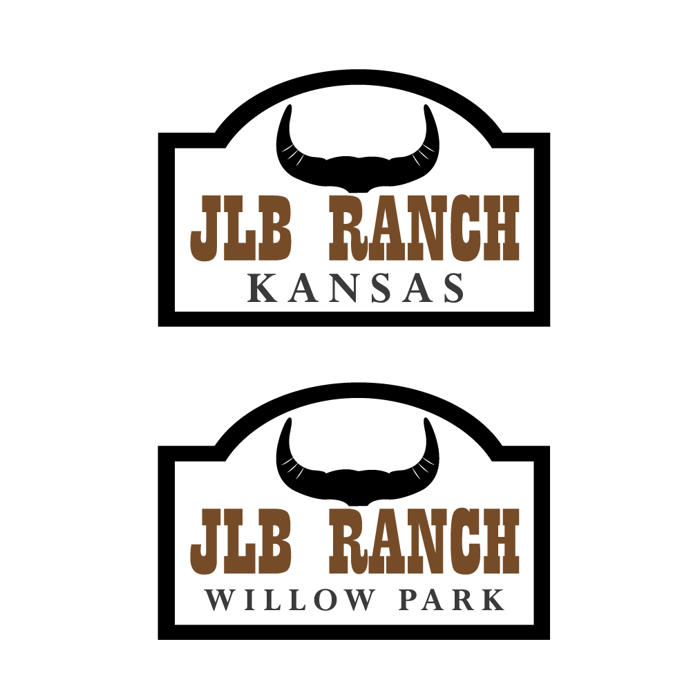 Logo Design by rockin - Entry No. 28 in the Logo Design Contest Logo Design Needed for Exciting New Company JLB Ranch Kansas.