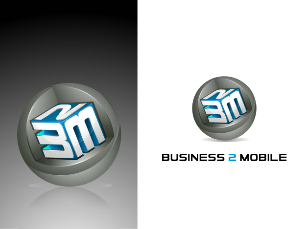Logo Design by Muhammad Nasrul chasib - Entry No. 126 in the Logo Design Contest Logo Design Needed for Exciting New Company Business2Mobile - B2M.