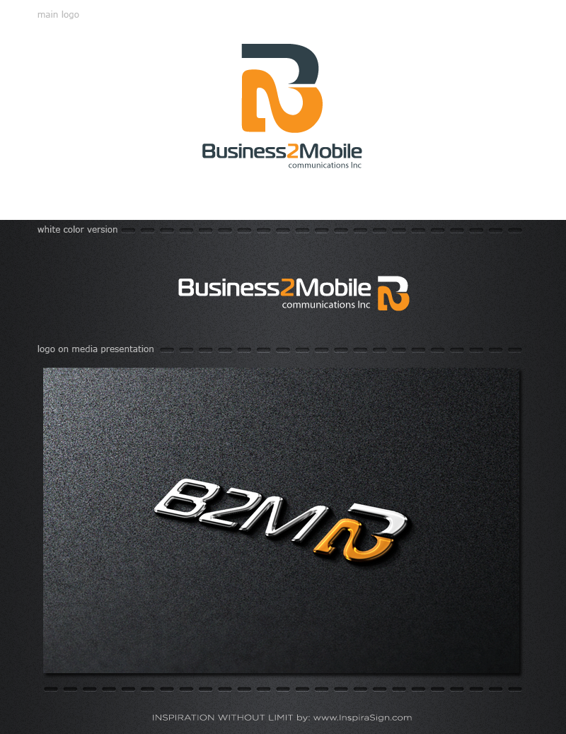 Logo Design by InspiraSign - Entry No. 127 in the Logo Design Contest Logo Design Needed for Exciting New Company Business2Mobile - B2M.