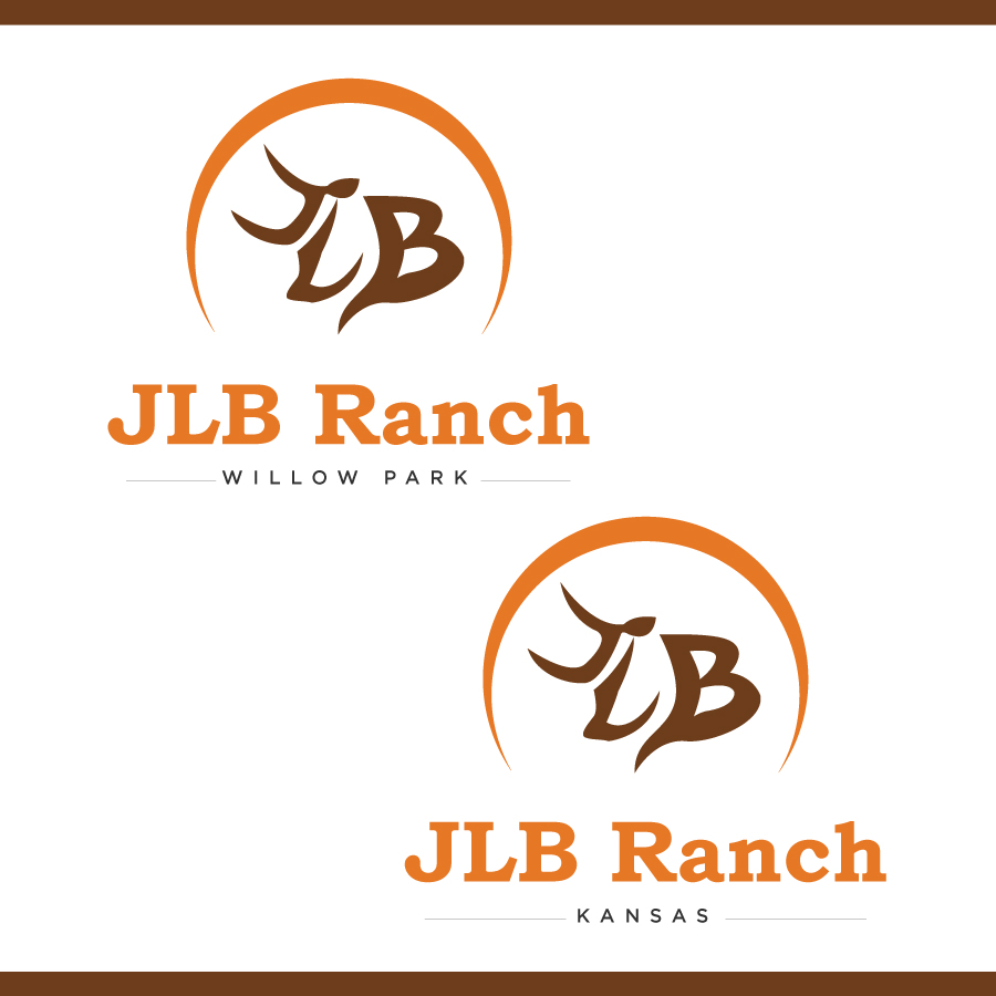 Logo Design by Edward Goodwin - Entry No. 37 in the Logo Design Contest Logo Design Needed for Exciting New Company JLB Ranch Kansas.