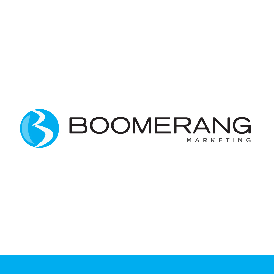 Logo Design by Edward Goodwin - Entry No. 82 in the Logo Design Contest Unique Logo Design Wanted for Boomerang Marketing.