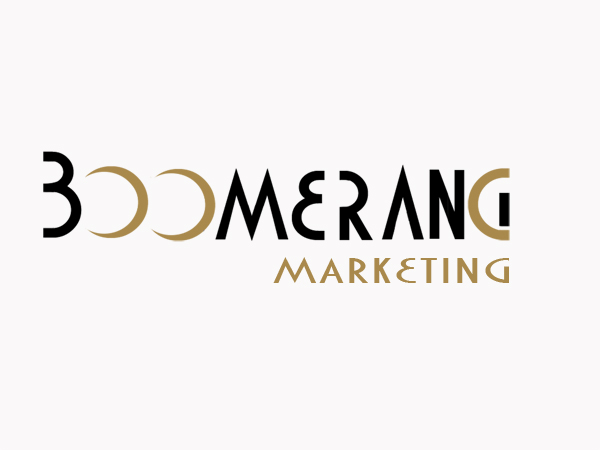 Logo Design by Mythos Designs - Entry No. 85 in the Logo Design Contest Unique Logo Design Wanted for Boomerang Marketing.