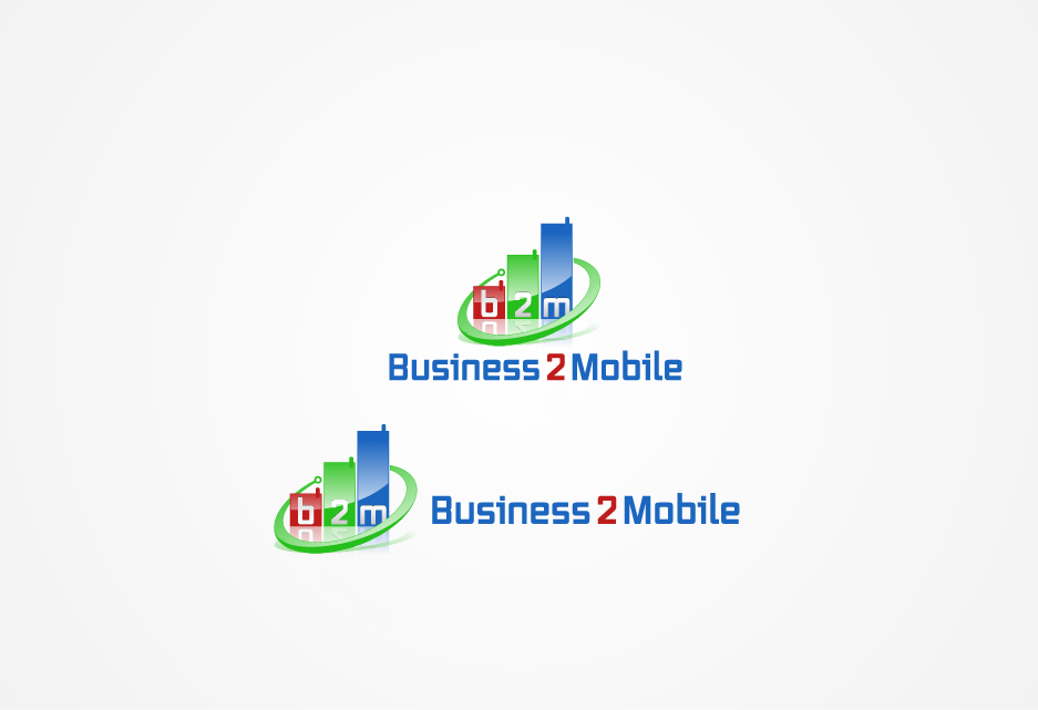 Logo Design by graphicleaf - Entry No. 130 in the Logo Design Contest Logo Design Needed for Exciting New Company Business2Mobile - B2M.