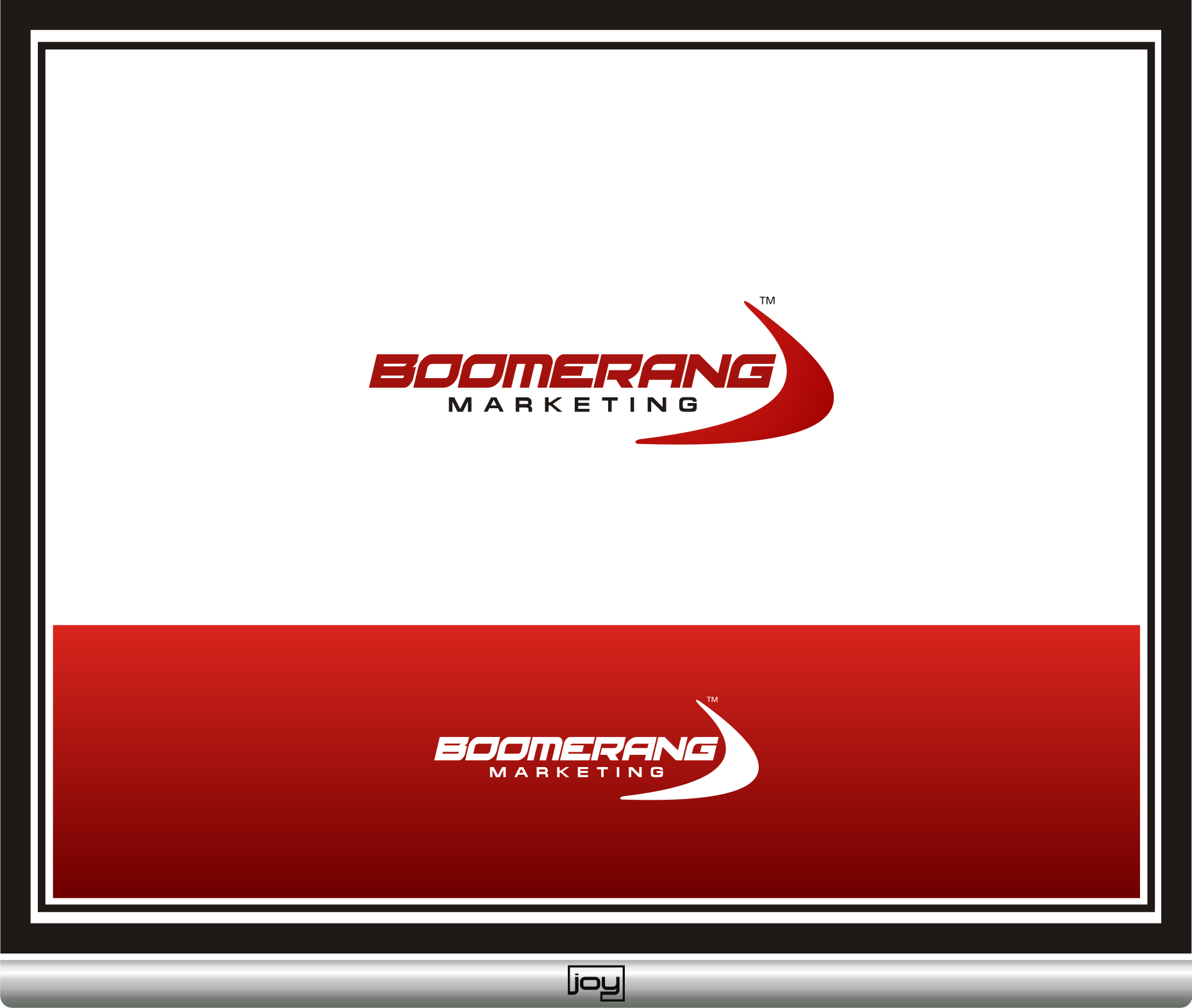 Logo Design by joysetiawan - Entry No. 89 in the Logo Design Contest Unique Logo Design Wanted for Boomerang Marketing.