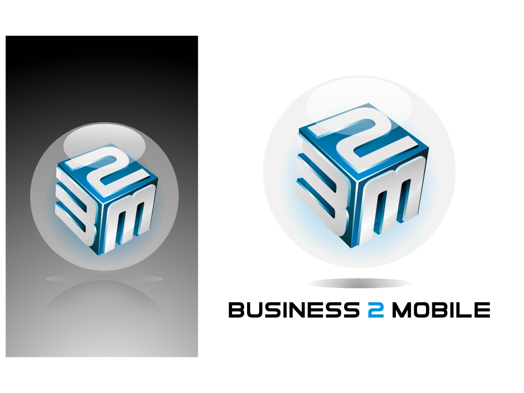 Logo Design by graphicleaf - Entry No. 137 in the Logo Design Contest Logo Design Needed for Exciting New Company Business2Mobile - B2M.