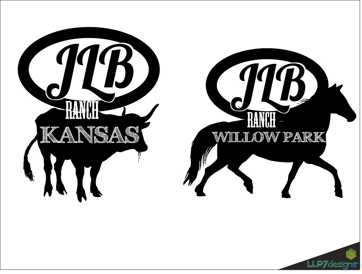 Logo Design by LLP7 - Entry No. 60 in the Logo Design Contest Logo Design Needed for Exciting New Company JLB Ranch Kansas.