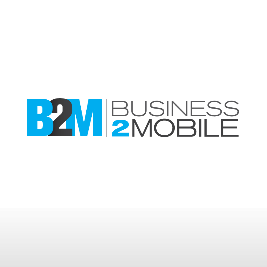 Logo Design by Edward Goodwin - Entry No. 138 in the Logo Design Contest Logo Design Needed for Exciting New Company Business2Mobile - B2M.