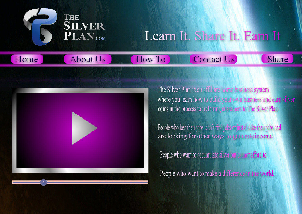 Web Page Design by Heri Susanto - Entry No. 5 in the Web Page Design Contest Web Page Design for The Silver Plan.