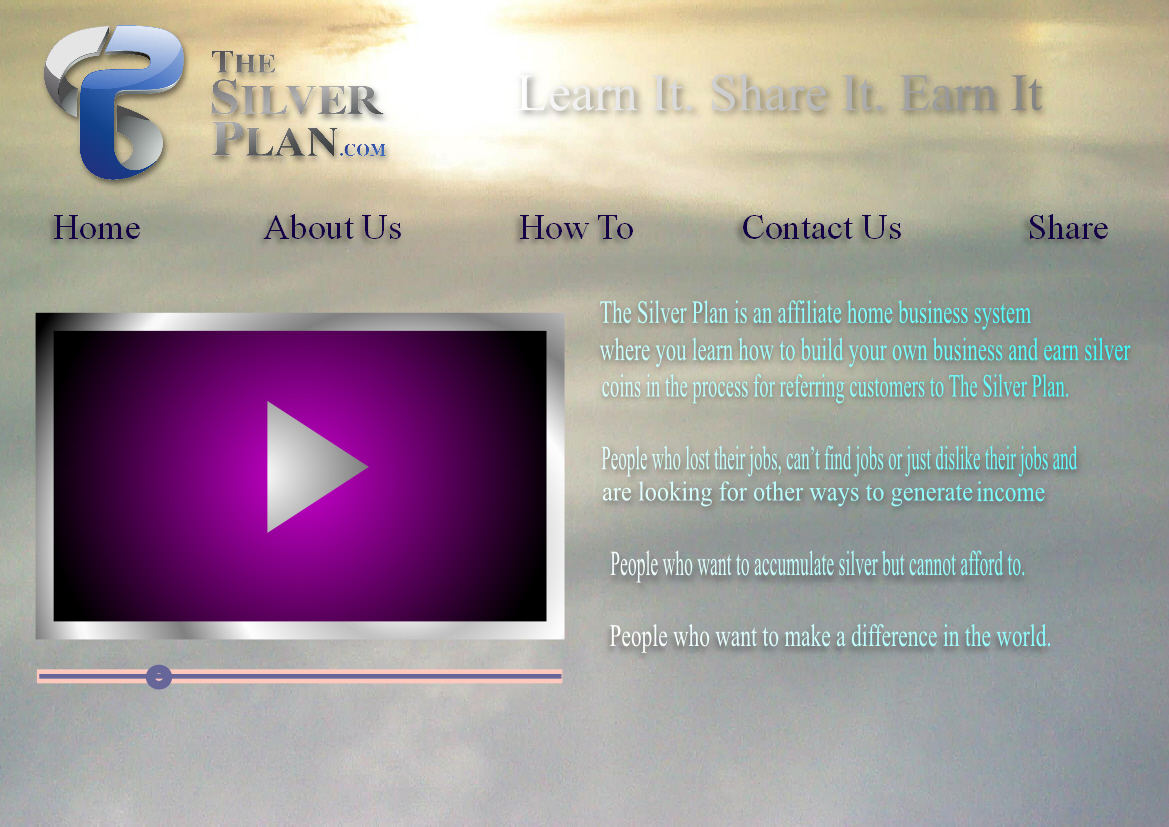 Web Page Design by Heri Susanto - Entry No. 6 in the Web Page Design Contest Web Page Design for The Silver Plan.