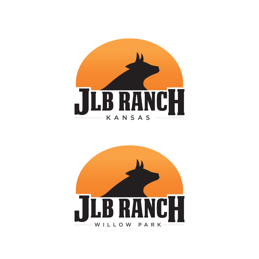 Logo Design by Edward Goodwin - Entry No. 61 in the Logo Design Contest Logo Design Needed for Exciting New Company JLB Ranch Kansas.