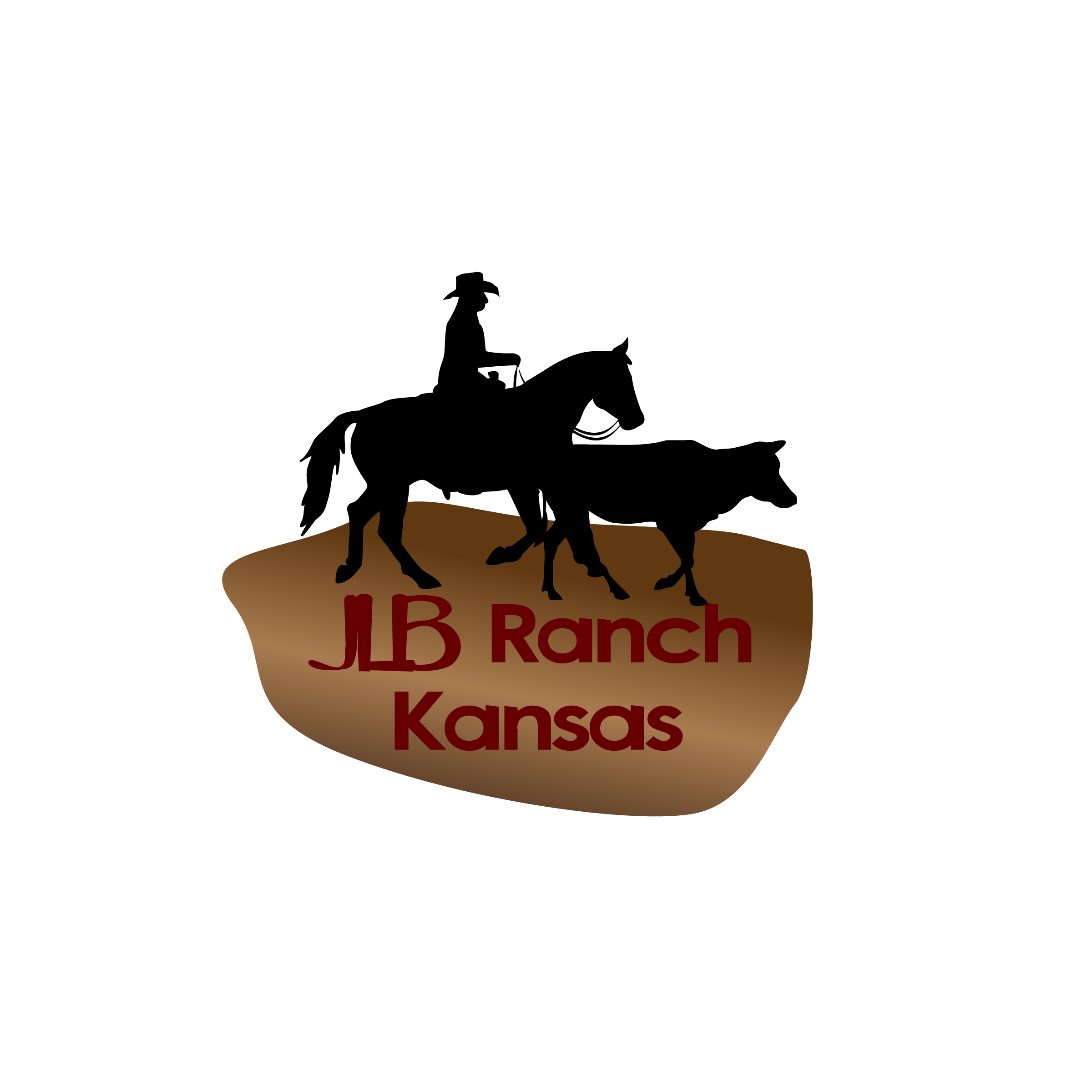 Logo Design by Nancy Grant - Entry No. 68 in the Logo Design Contest Logo Design Needed for Exciting New Company JLB Ranch Kansas.
