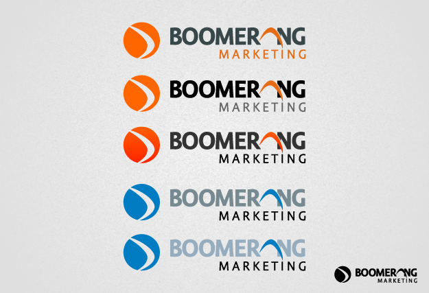Logo Design by graphicleaf - Entry No. 94 in the Logo Design Contest Unique Logo Design Wanted for Boomerang Marketing.