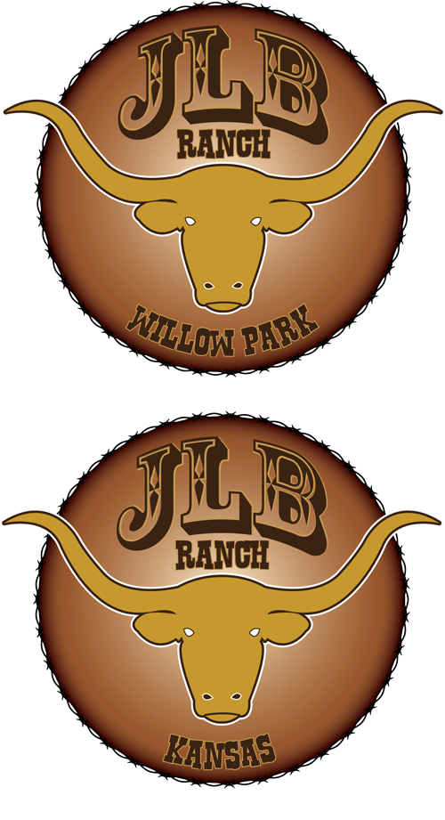 Logo Design by Lefky - Entry No. 85 in the Logo Design Contest Logo Design Needed for Exciting New Company JLB Ranch Kansas.