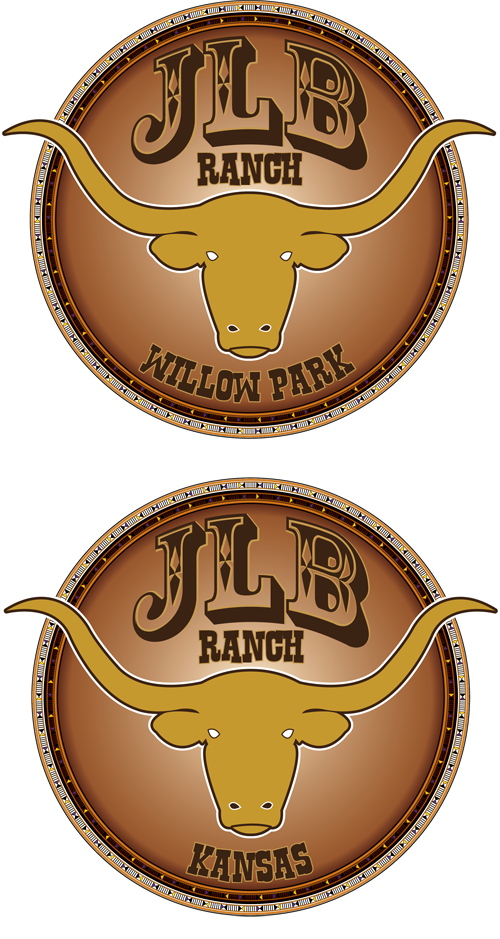 Logo Design by Lefky - Entry No. 86 in the Logo Design Contest Logo Design Needed for Exciting New Company JLB Ranch Kansas.