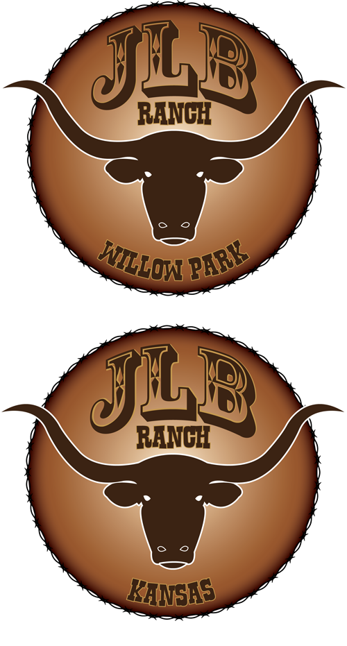 Logo Design by Lefky - Entry No. 90 in the Logo Design Contest Logo Design Needed for Exciting New Company JLB Ranch Kansas.
