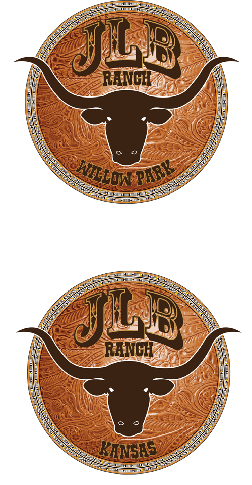 Logo Design by Lefky - Entry No. 95 in the Logo Design Contest Logo Design Needed for Exciting New Company JLB Ranch Kansas.