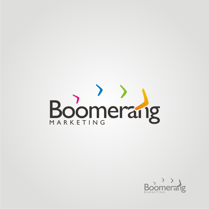 Logo Design by OriQ - Entry No. 96 in the Logo Design Contest Unique Logo Design Wanted for Boomerang Marketing.