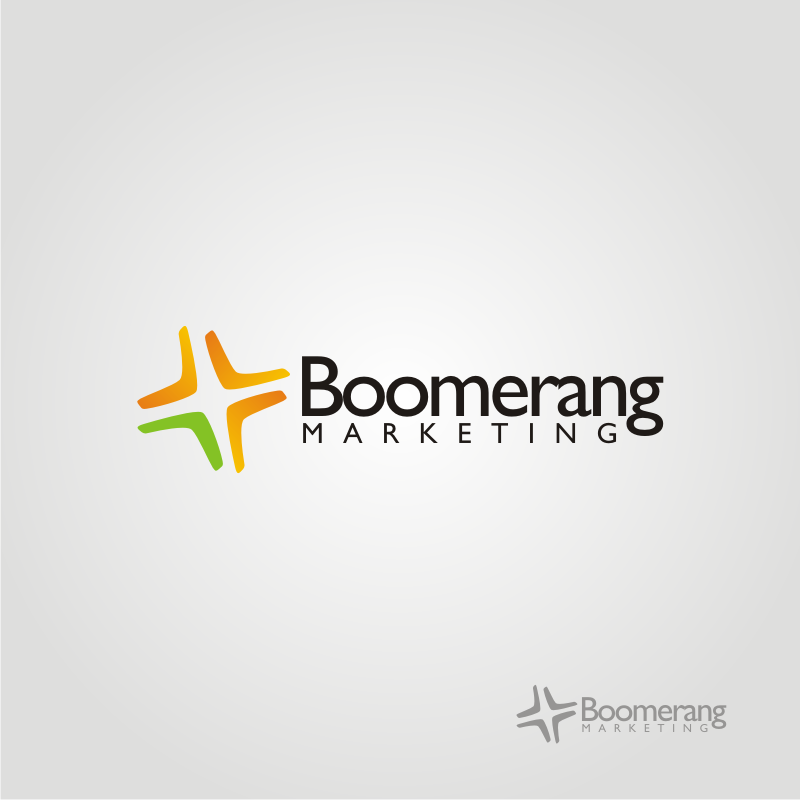 Logo Design by OriQ - Entry No. 97 in the Logo Design Contest Unique Logo Design Wanted for Boomerang Marketing.