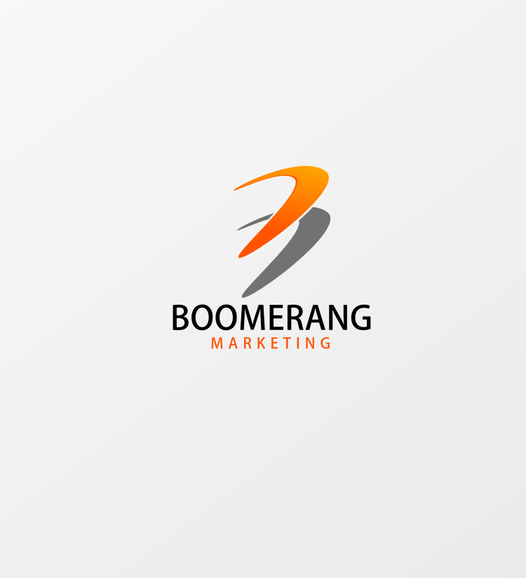 Logo Design by Jorge Sardon - Entry No. 100 in the Logo Design Contest Unique Logo Design Wanted for Boomerang Marketing.