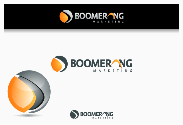 Logo Design by graphicleaf - Entry No. 104 in the Logo Design Contest Unique Logo Design Wanted for Boomerang Marketing.
