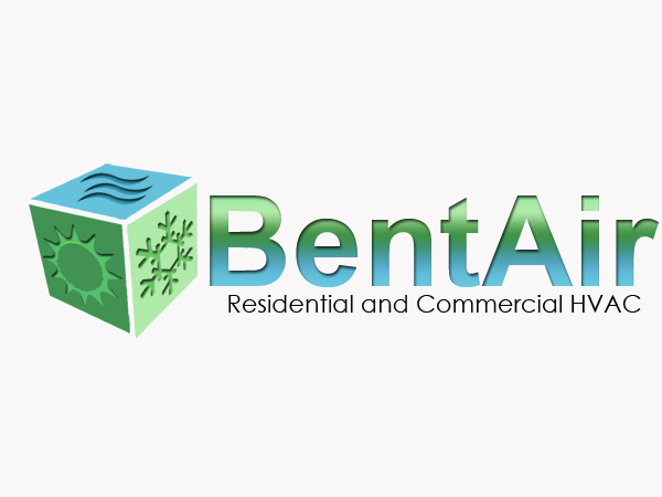 Logo Design by Mythos Designs - Entry No. 136 in the Logo Design Contest BentAir HVAC Logo Design.