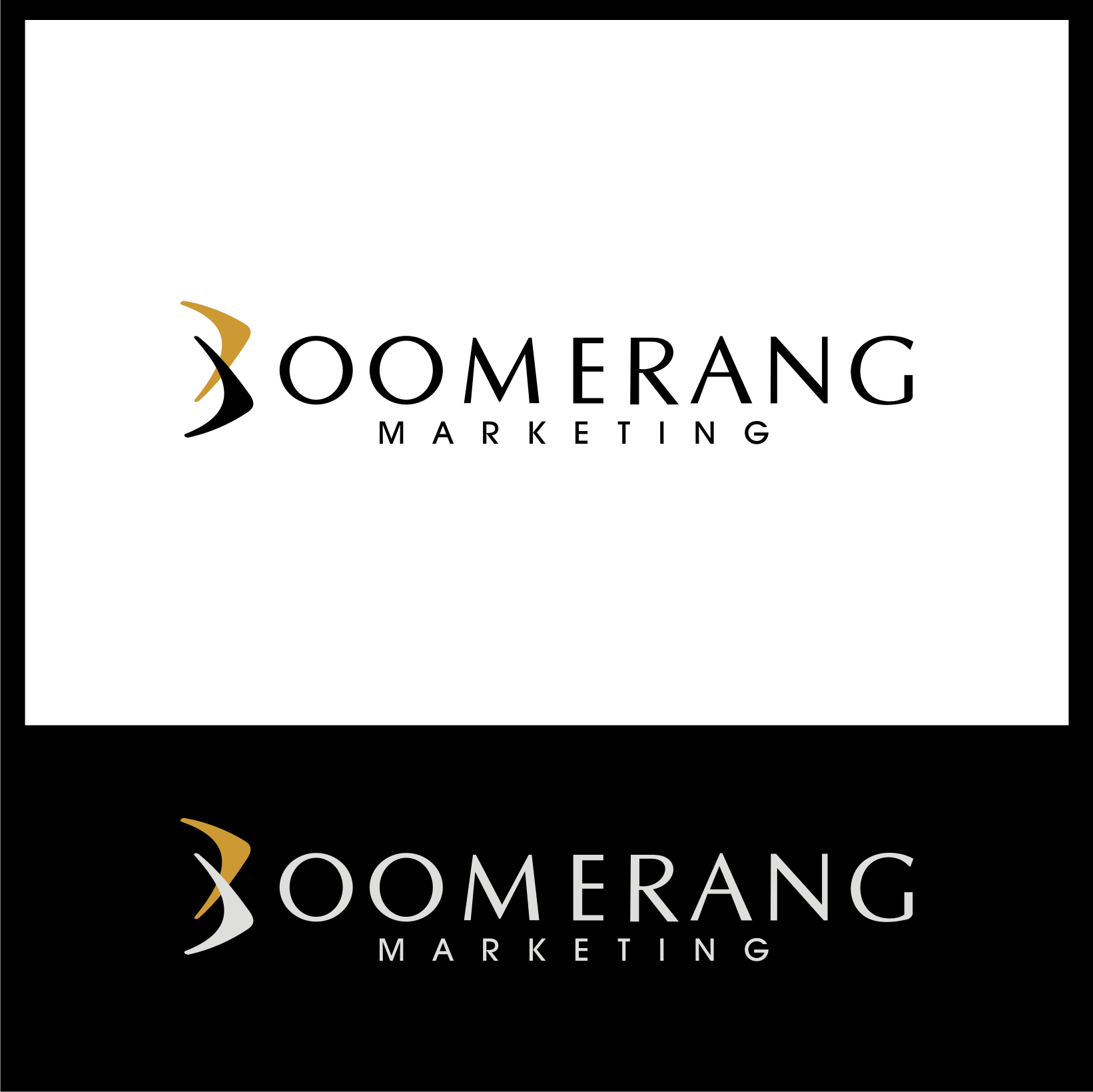 Logo Design by Private User - Entry No. 109 in the Logo Design Contest Unique Logo Design Wanted for Boomerang Marketing.