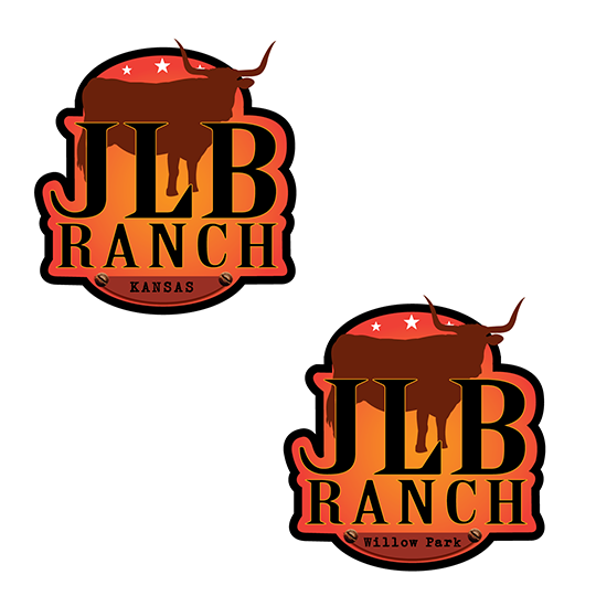 Logo Design by robken0174 - Entry No. 124 in the Logo Design Contest Logo Design Needed for Exciting New Company JLB Ranch Kansas.