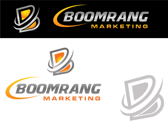 Logo Design by Private User - Entry No. 110 in the Logo Design Contest Unique Logo Design Wanted for Boomerang Marketing.