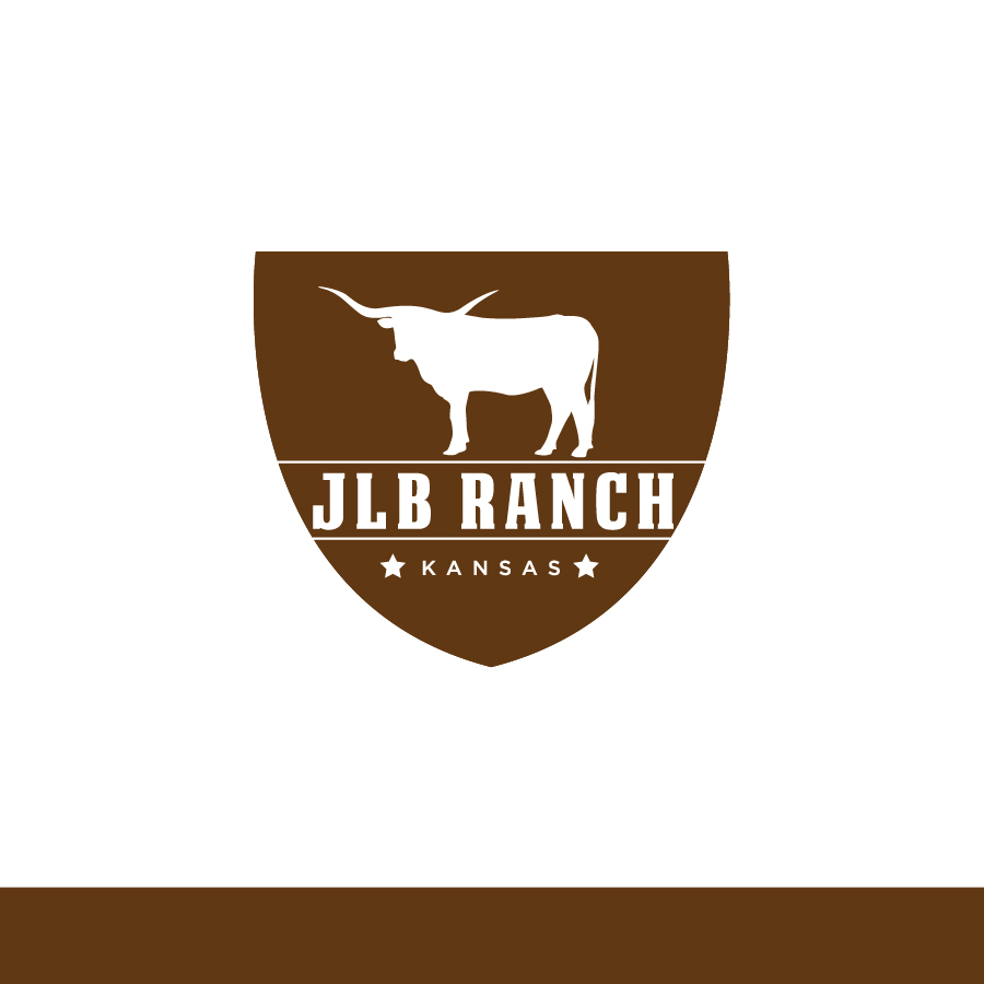 Logo Design by Edward Goodwin - Entry No. 127 in the Logo Design Contest Logo Design Needed for Exciting New Company JLB Ranch Kansas.