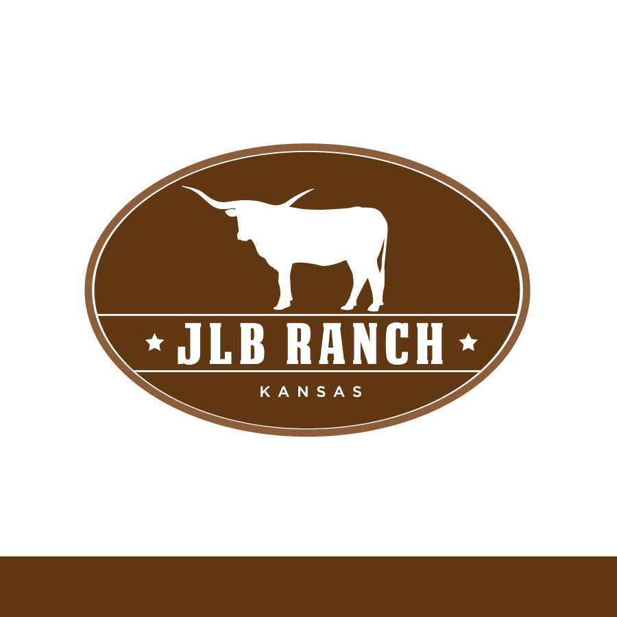 Logo Design by Edward Goodwin - Entry No. 129 in the Logo Design Contest Logo Design Needed for Exciting New Company JLB Ranch Kansas.
