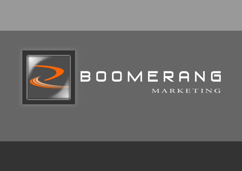 Logo Design by whoosef - Entry No. 112 in the Logo Design Contest Unique Logo Design Wanted for Boomerang Marketing.