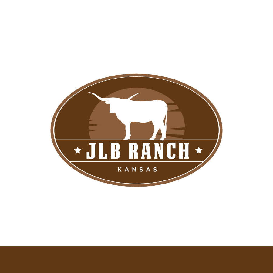 Logo Design by Edward Goodwin - Entry No. 132 in the Logo Design Contest Logo Design Needed for Exciting New Company JLB Ranch Kansas.